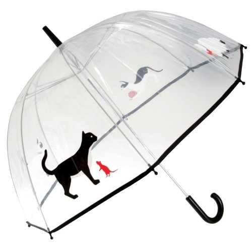 Drizzles Adults Unisex Dome Cat Umbrella