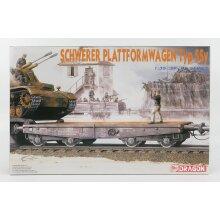 Dragon Accessories Schwerer Plattformwagen Typ SSY Military - 1:35