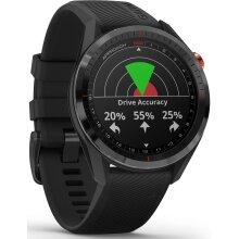 Garmin Approach S62 Sport GPS Golf Smartwatch (Black Bezel with Black Band)