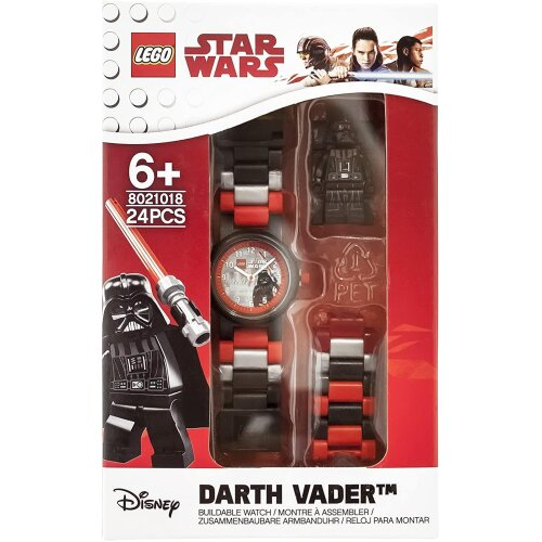 Lego Star Wars 8021018 Darth Vader Buildable Watch