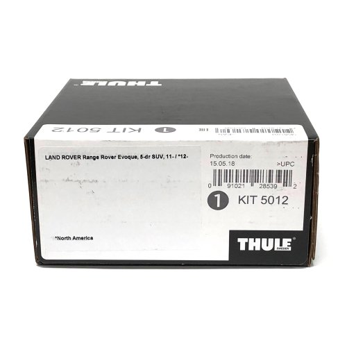 Thule Evo Fitting Kit 5012 Range Rover Evoque SUV 2011 on Normal Roof