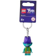 LEGO Trolls World Tour Branch Minifigure Keychain 854004
