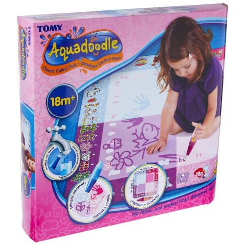 Aquadoodle Classic Colour Pink - Mess Free Drawing Fun for Children ages 18 months+