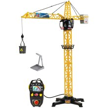203462411 Giant Cable Controlled Crane 1 Meter High Multicolor
