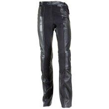 Richa Black Kelly Womens Motorcycle Leather Pants - UK 20