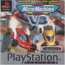 Sony Playstation - Micro Machines V3 - Platinum - Used