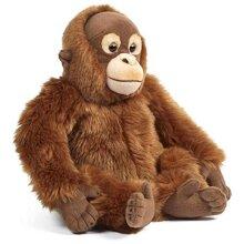 Living Nature Soft Toy - Orangutan, Monkey (30cm)