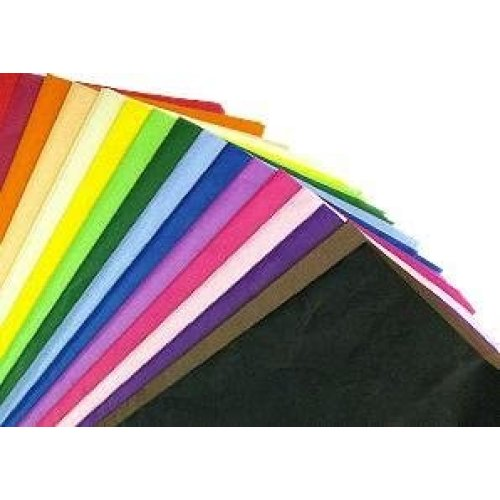 Multi Coloured Tissue Paper- 100 pack