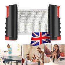 Table Tennis Kit Ping Pong Set Portable Retractable Net