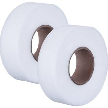 Fabric Fusing Tape Adhesive Hem Tape Iron-on Tape Each 27 Yards, 2 Pack (3/ 4 inch)
