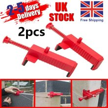 2 Brick Liner Runner Wire Drawer Bricklaying Tool Fixer Building Construction UK