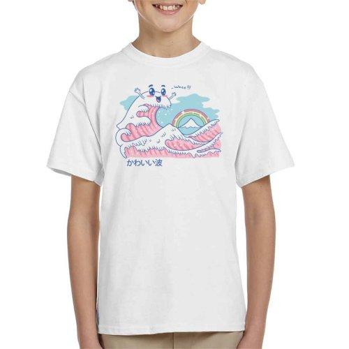The Great Kawaii Wave Kid's T-Shirt