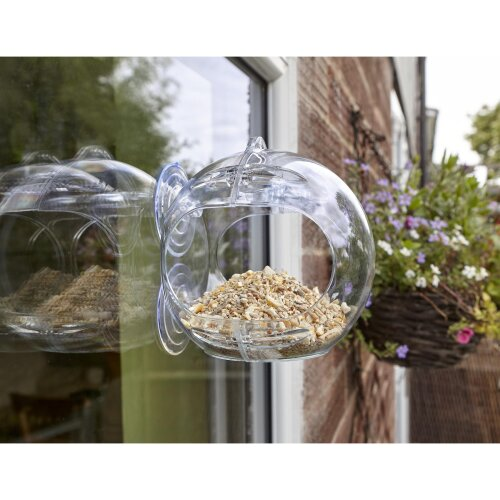 Peckish Globe Window Feeder Rtu