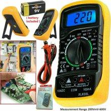 LCD Digital Multimeter Voltmeter Ammeter AC DC OHM Current Circuit