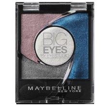 Maybelline Big Eyes Light Catching Quad Eyeshadow Palette-04 Luminous Blue