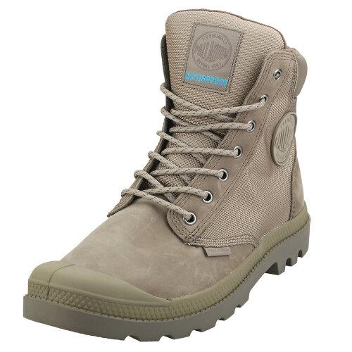 (10) Palladium Pampa Sport Cuff Wpn Unisex Casual Boots in Rock