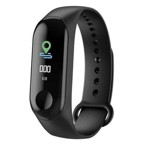 (Black) Bluetooth Smart Watch Heart Rate Blood Pressure Fitness Fit Bit Sports Tracker