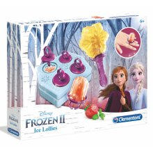 Clementoni Disney's Frozen Ice Lolly Kit, Moulds & Accessories - Kids 7 Years +