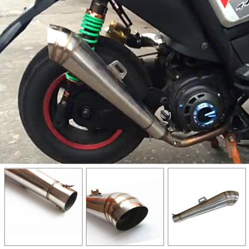 stainless steel 38-51mm Motorcycle GP Exhaust Muffler