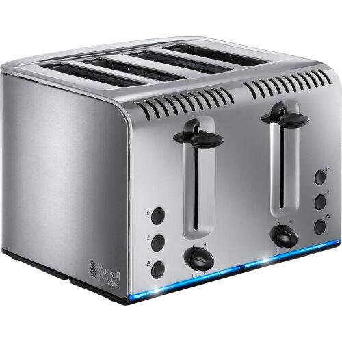 Russell Hobbs Buckingham 20750 4 Slice Toaster - Stainless Steel