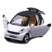 1:24 Simulation Smart  Alloy Toy Car Model(White)