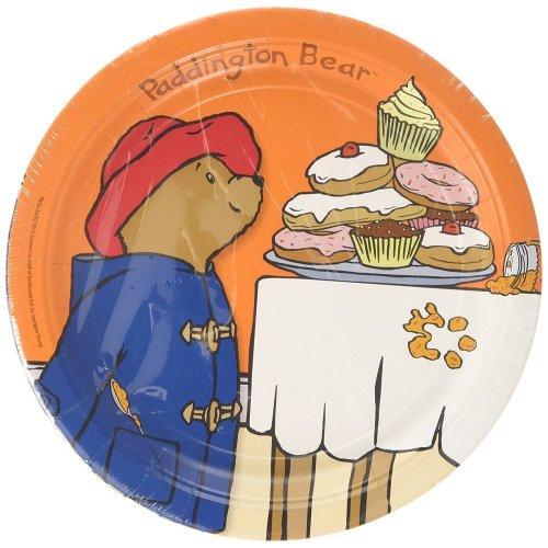 Pack of 8 Paddington the Bear Paper Plates