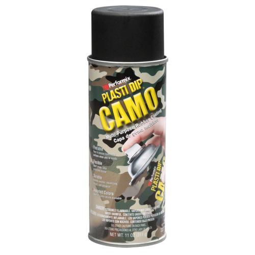 (Black) Plasti Dip Camo Spray Aerosol - Camouflage Hunting Paint