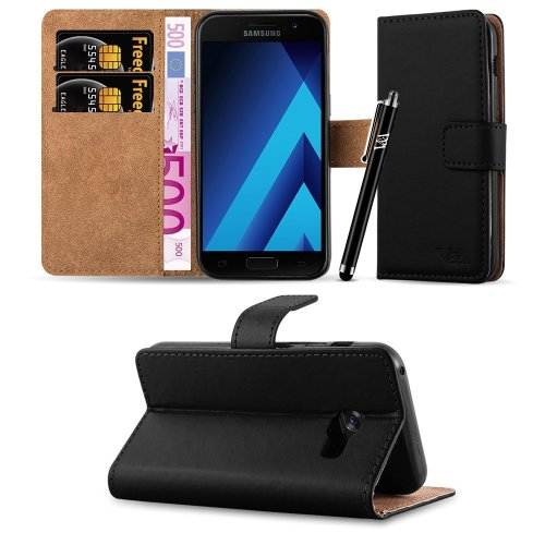For Galaxy A3 2017 Premium Leather Wallet Case