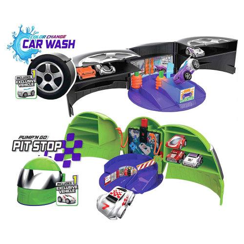 Micro Wheels Pit Stop & Car Wash