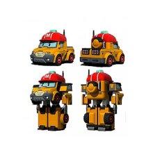 Silverlit Transforming Toy Robocar Poli Mark Orange and Red Vehicle Deform Robot
