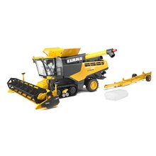 Bruder 02118 Claas Lexion 780 Combine Harvester Realistic Farm Harvesting Tractor Toy  Yellow