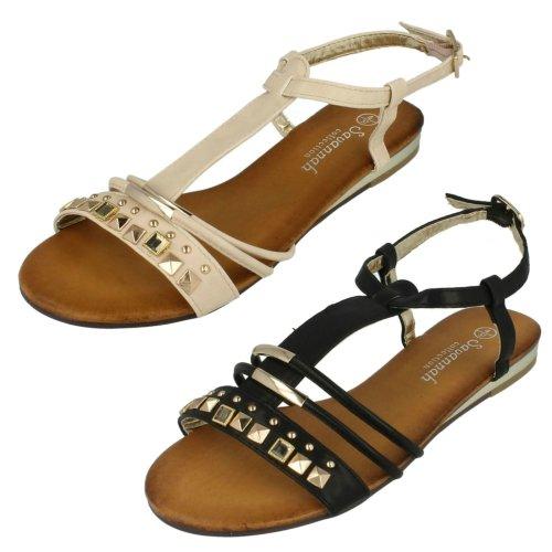 Ladies Savannah Studded Detail Sandal