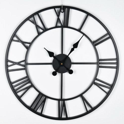 Skeletal Iron Wall Clock