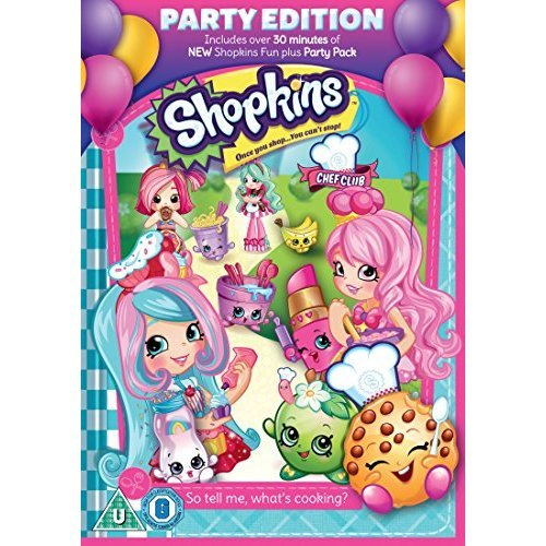 Shopkins - Chef Club Party Edition DVD [2017]