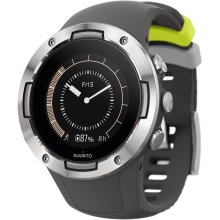 SUUNTO 5 GPS Sports Smartwatch (Graphite Natural Steel)