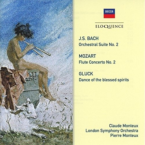 Pierre and Claude Monteux with London Symphony Orchestra - Bach, Gluck, Mozart: Music for Flute and Orchestra [CD]