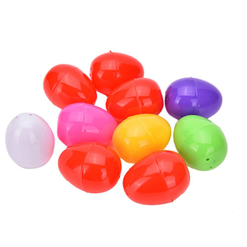 Trixes 6pc Easter Filler Eggs | Empty Plastic Easter Eggs
