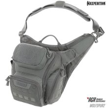 Maxpedition WLF2GRY Wolfspur v2.0 Crossbody Shoulder Bag, Gray