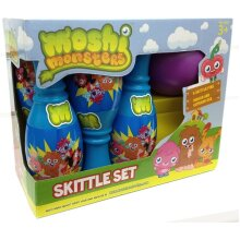 Fun Moshi Monsters 6 Pin Skittle Set