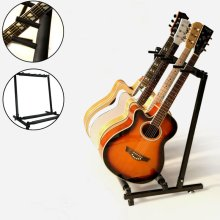 Gorilla 5-Way Guitar Stand Foldable Acoustic Electric Bass Guitar Rack