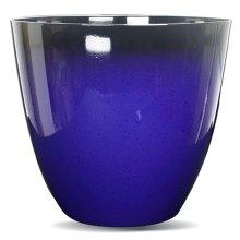 Gr8 Garden Large Blue Glazed Effect Plant Pot