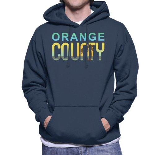 Orange County Sunset Silhouette Men's Hooded Sweatshirt