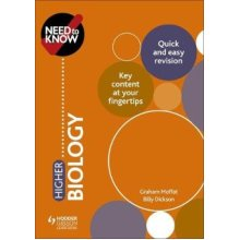 Need to Know: Higher Biology