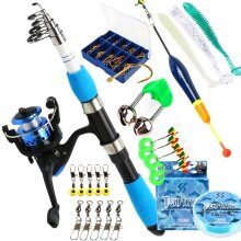 Fishing Rod and Spinning Reel