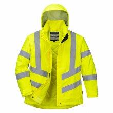 Portwest Ladies Hi-Vis Winter Jacket LW74