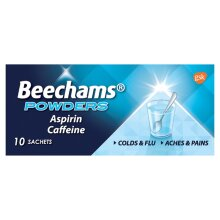 Beechams Powders Aspirin Caffeine 10 Sachets