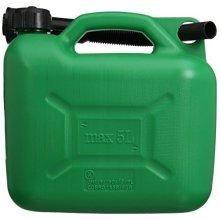Silverline Plastic Fuel Can 5ltr Green - 847074 5 -  plastic fuel can silverline green 847074 5 5ltr