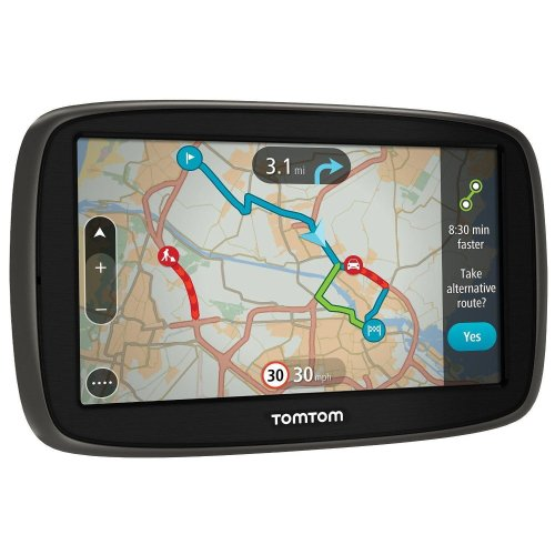 TomTom GO 50 5-inch Sat Nav Western Europe Maps and Traffic Lifetime Updates