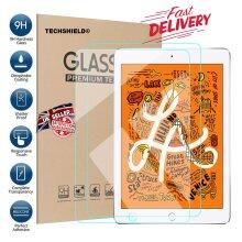 (2 Pack) Anti Shatter Anti Fingerprint Ultra Clear 9H Real HD Tempered Glass Screen Protector For Apple iPad 7.9 inch MINI 4 (2015) MINI 5 (2019)