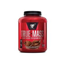 BSN True Mass Mass Gainer Whey Protein Powder with BCAAs and Glutamine for Weight Gain and Muscle Recovery, Chocolate Milkshake, 16 Servings, 2.64 kg